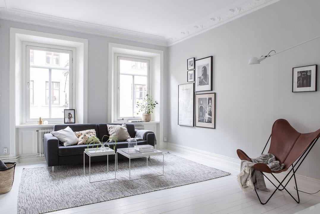 Màu xám ghi trung tính và hiện đại cho không gian phòng khách của bạn